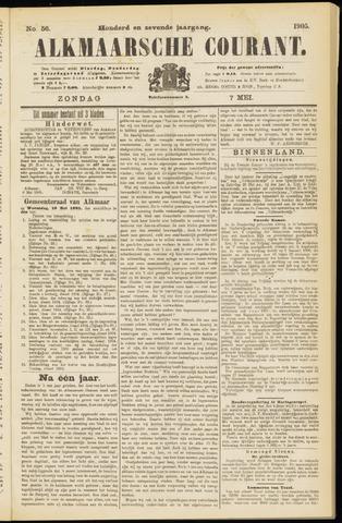 Alkmaarsche Courant 1905-05-07