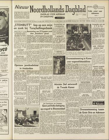 Nieuw Noordhollandsch Dagblad : voor Alkmaar en omgeving 1951-11-23
