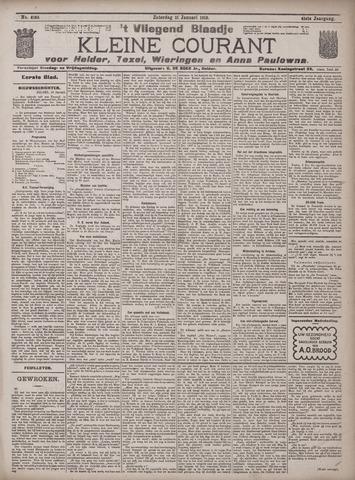 Vliegend blaadje : nieuws- en advertentiebode voor Den Helder 1913-01-11