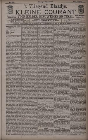 Vliegend blaadje : nieuws- en advertentiebode voor Den Helder 1894-02-03