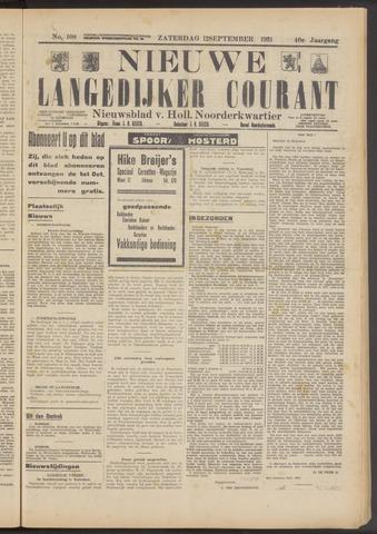 Nieuwe Langedijker Courant 1931-09-12