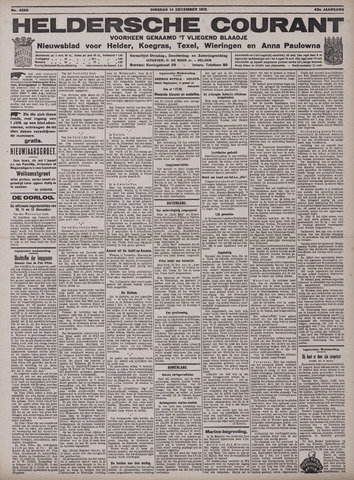 Heldersche Courant 1915-12-14