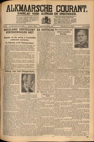 Alkmaarsche Courant 1939-10-05