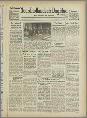 Nieuw Noordhollandsch Dagblad : voor Alkmaar en omgeving 1946-03-28