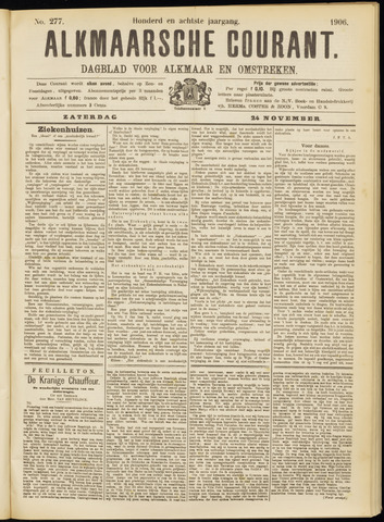 Alkmaarsche Courant 1906-11-24