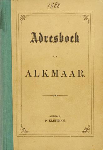 Adresboek van Alkmaar 1888-01-01