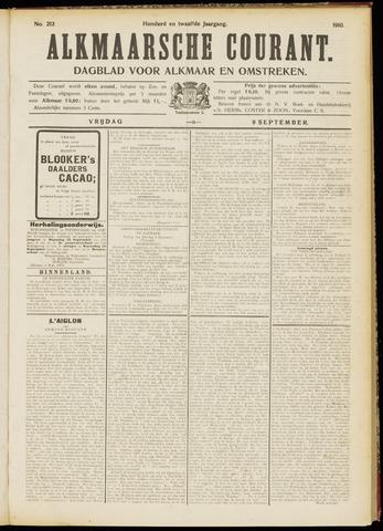 Alkmaarsche Courant 1910-09-09