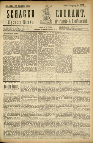 Schager Courant 1895-08-22