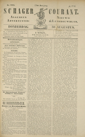 Schager Courant 1883-08-30
