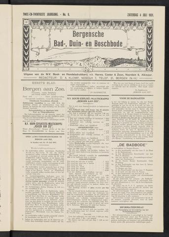 Bergensche bad-, duin- en boschbode 1931-07-04
