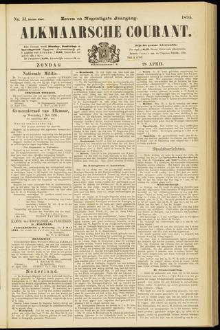 Alkmaarsche Courant 1895-04-28