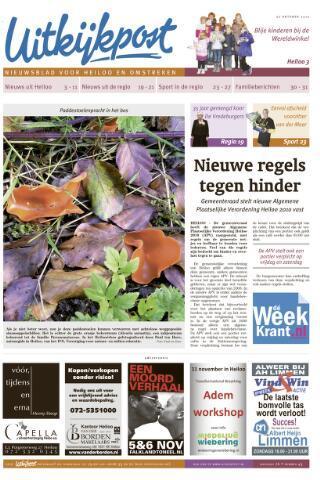 Uitkijkpost : nieuwsblad voor Heiloo e.o. 2010-10-27