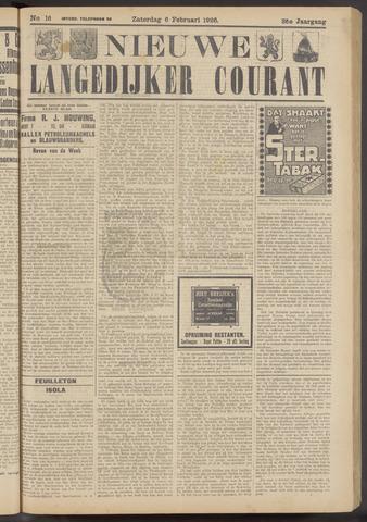 Nieuwe Langedijker Courant 1926-02-06