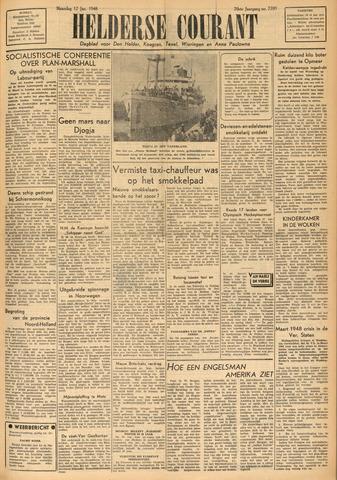 Heldersche Courant 1948-01-12