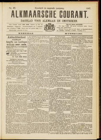 Alkmaarsche Courant 1907-02-20