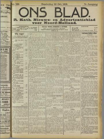 Ons Blad : katholiek nieuwsblad voor N-H 1913-10-23