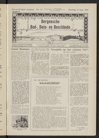 Bergensche bad-, duin- en boschbode 1947-09-13