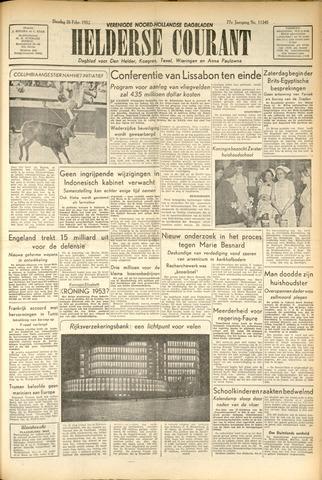 Heldersche Courant 1952-02-26