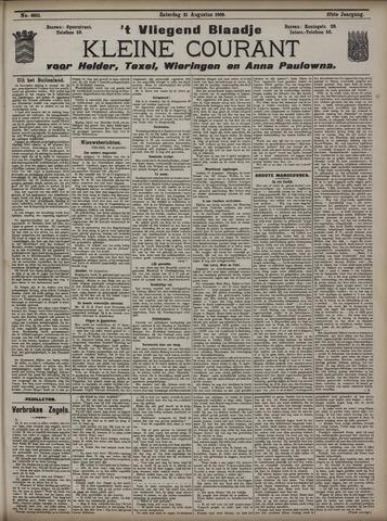 Vliegend blaadje : nieuws- en advertentiebode voor Den Helder 1909-08-21