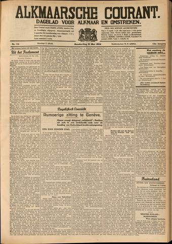 Alkmaarsche Courant 1934-05-31
