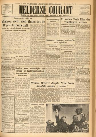 Heldersche Courant 1955-01-17