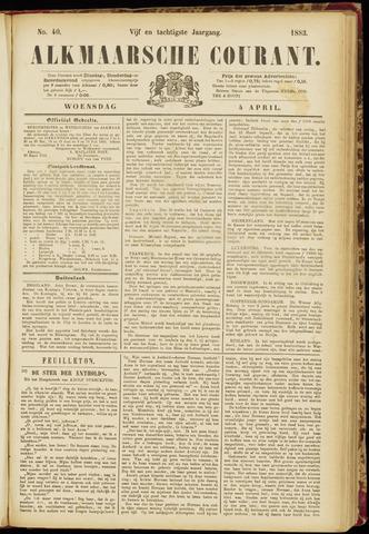 Alkmaarsche Courant 1883-04-04