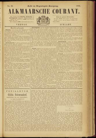 Alkmaarsche Courant 1896-03-13