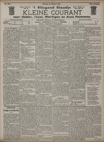 Vliegend blaadje : nieuws- en advertentiebode voor Den Helder 1908-08-29