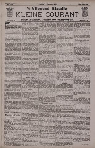 Vliegend blaadje : nieuws- en advertentiebode voor Den Helder 1900-02-07