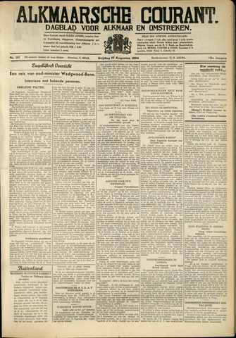 Alkmaarsche Courant 1934-08-10