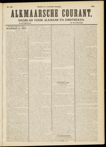 Alkmaarsche Courant 1912-10-19