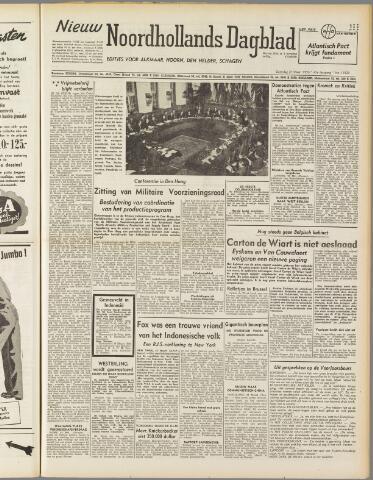 Nieuw Noordhollandsch Dagblad : voor Alkmaar en omgeving 1950-03-25
