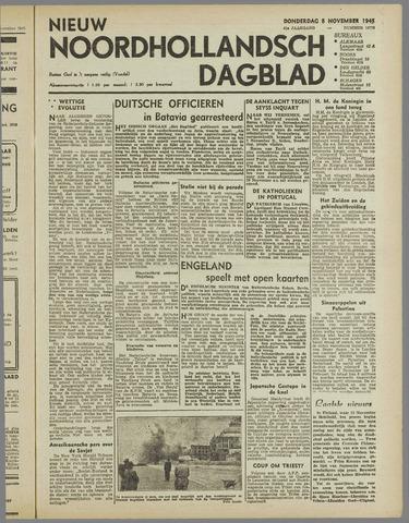 Nieuw Noordhollandsch Dagblad : voor Alkmaar en omgeving 1945-11-08
