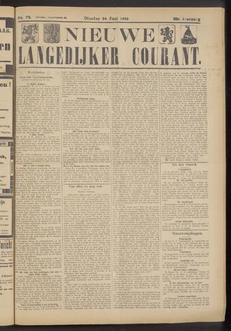 Nieuwe Langedijker Courant 1924-06-24