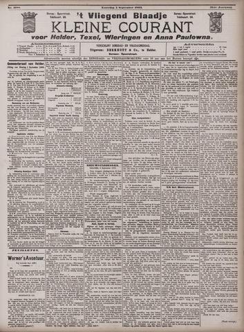 Vliegend blaadje : nieuws- en advertentiebode voor Den Helder 1903-09-05
