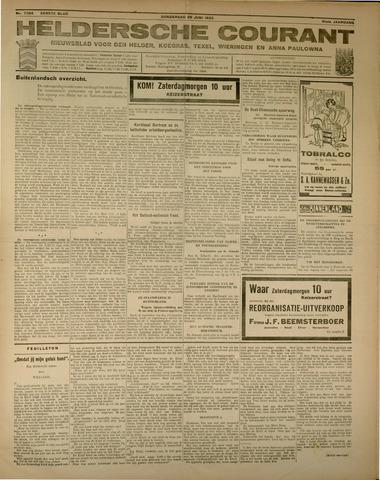 Heldersche Courant 1933-06-29