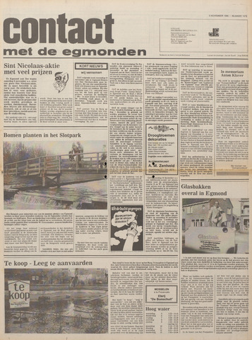 Contact met de Egmonden 1980-11-05