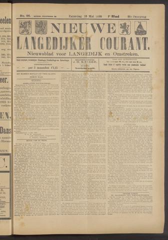 Nieuwe Langedijker Courant 1922-05-13