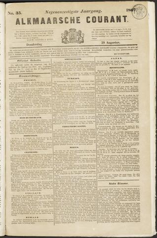 Alkmaarsche Courant 1867-08-29