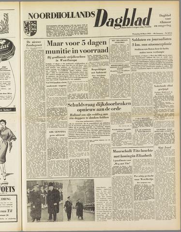 Noordhollands Dagblad : dagblad voor Alkmaar en omgeving 1953-03-18