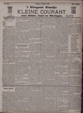 Vliegend blaadje : nieuws- en advertentiebode voor Den Helder 1900-09-01