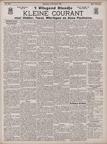 Vliegend blaadje : nieuws- en advertentiebode voor Den Helder 1904-11-12