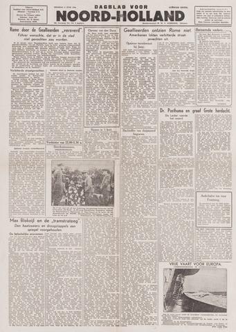Dagblad Noord-Holland, Schager editie 1944-06-06