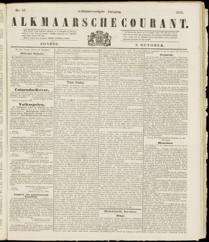 Alkmaarsche Courant 1876-10-08