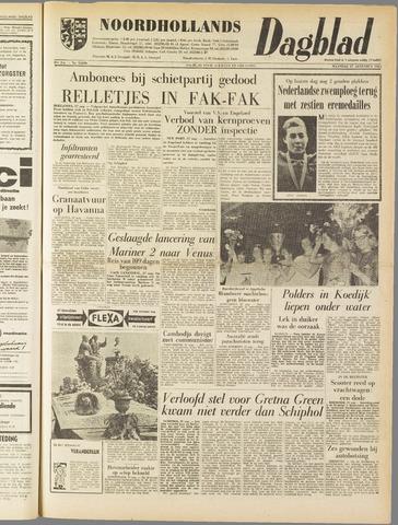 Noordhollands Dagblad : dagblad voor Alkmaar en omgeving 1962-08-27