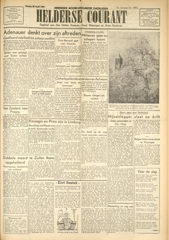 Heldersche Courant 1950-04-25