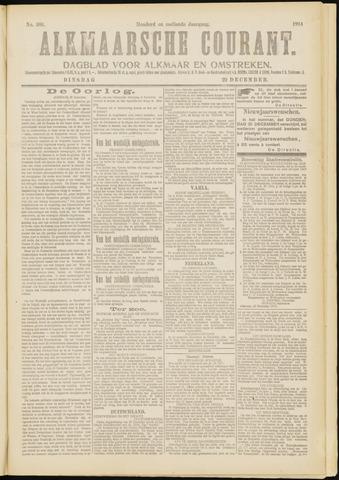 Alkmaarsche Courant 1914-12-29