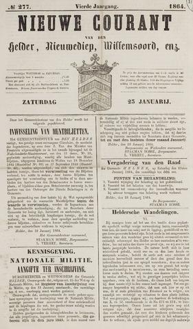Nieuwe Courant van Den Helder 1864-01-23