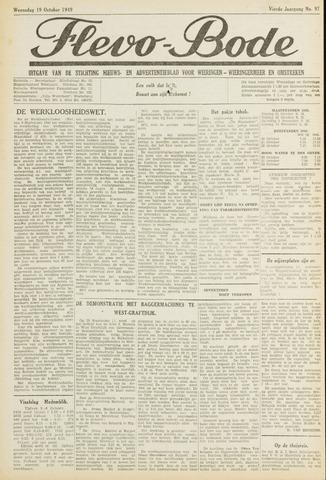 Flevo-bode: nieuwsblad voor Wieringen-Wieringermeer 1949-10-19