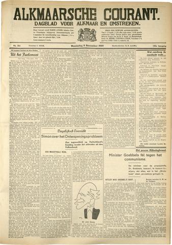 Alkmaarsche Courant 1933-11-08
